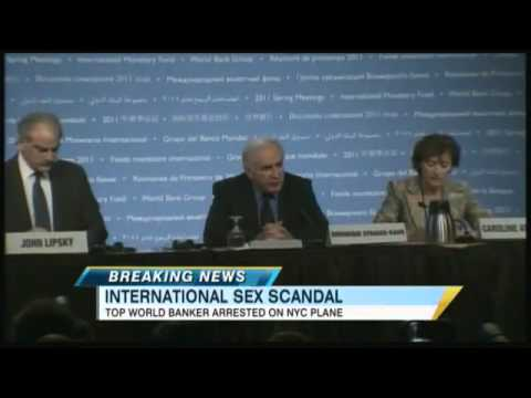 Dominique Strauss-Kahn, Head of the International Monetary Fund, Involved in Sex Scandal