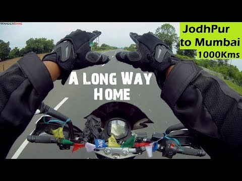 Part 5 | Jodhpur to Mumbai in One Day | Last Painful 1000Kms | via Bullet Baba Temple