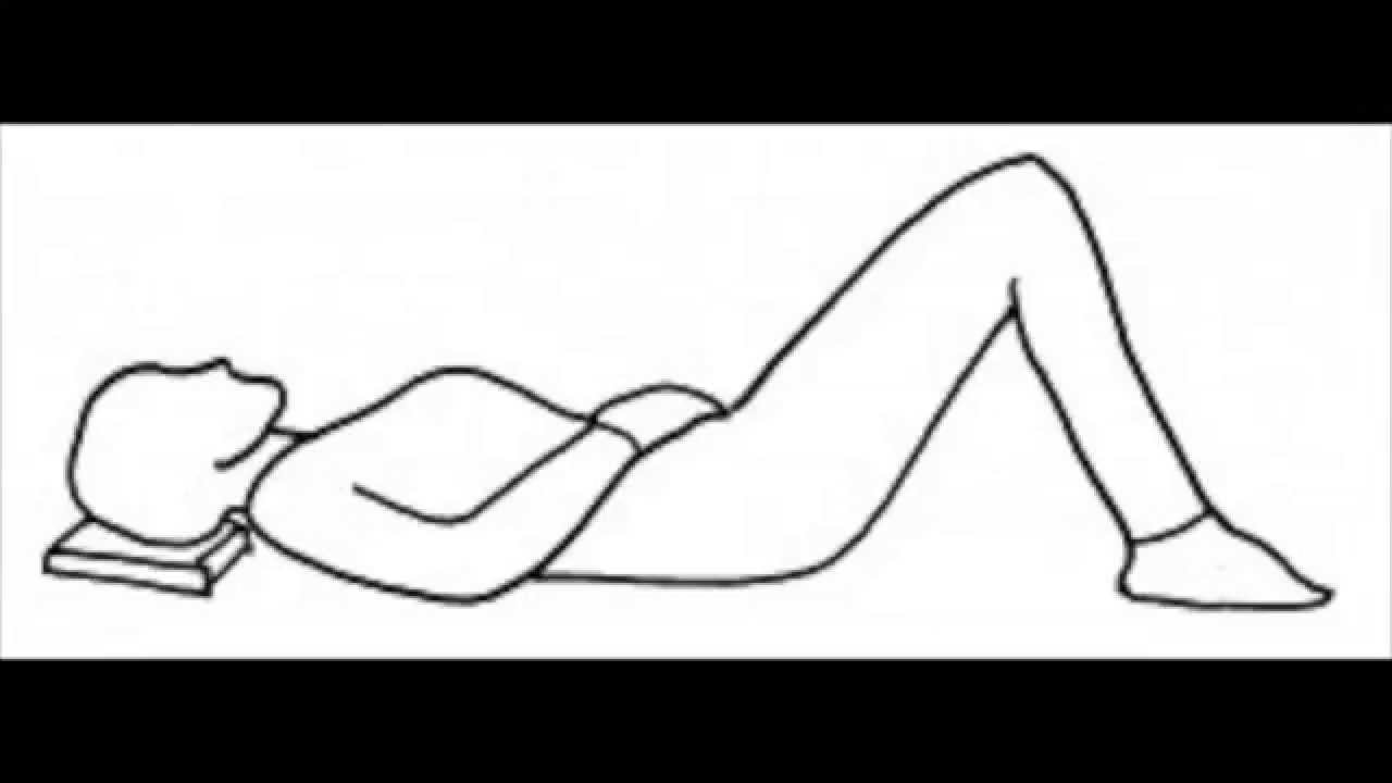 Semi-supine position - Technique Alexander ASMR FR - YouTube