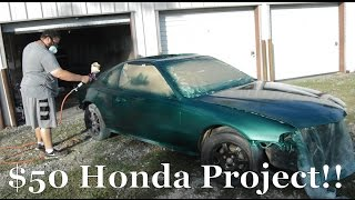 $50 Honda Project Episode 1.2
