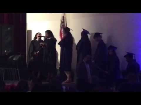 Liz graduates from ODLH 6/3/17