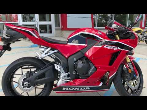 2017 Honda CBR 600RR | First Look