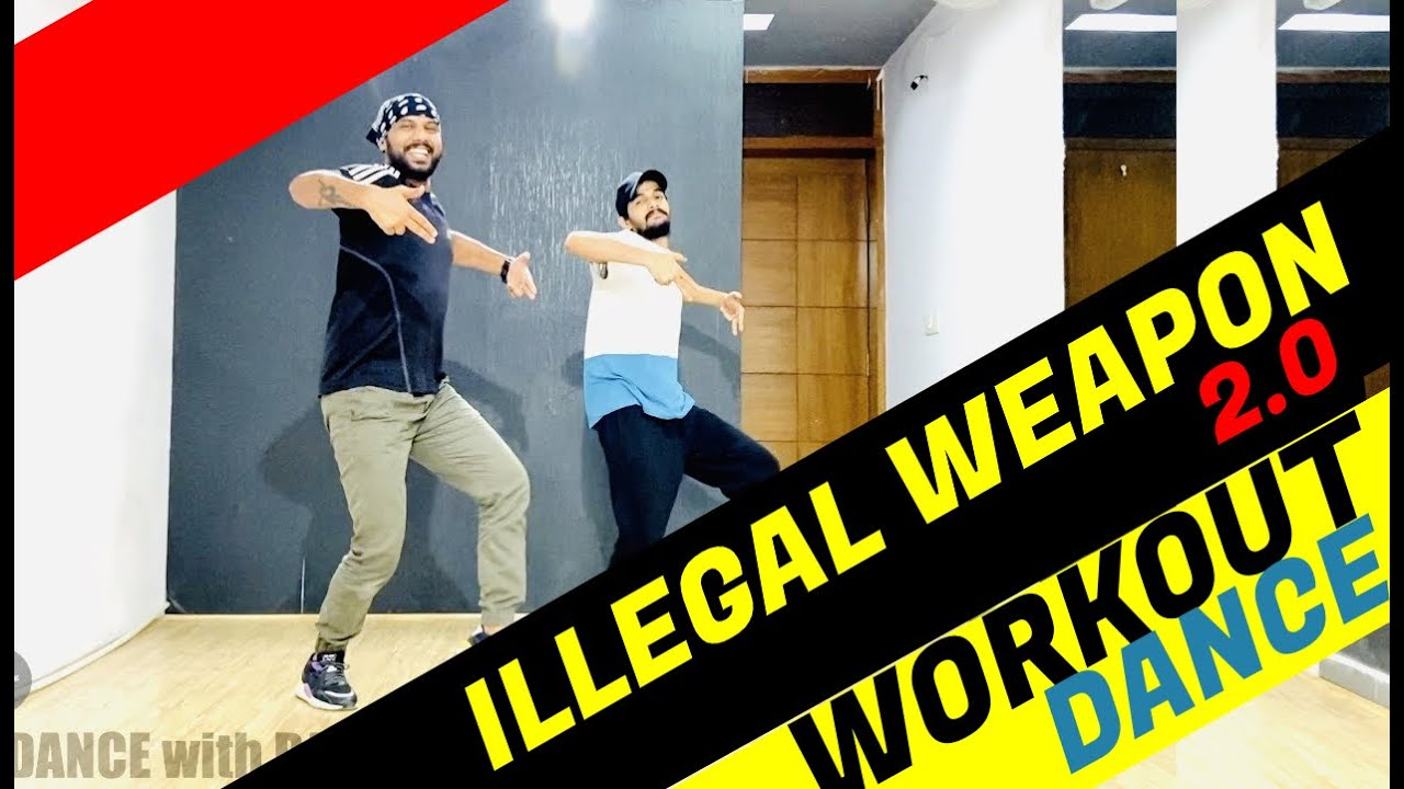 Illegal Weapon 2.0 | Street Dancer 3D | Bollywood Dance Workout | FITNESS DANCE With RAHUL