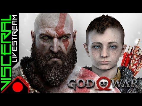 [🔴] God of War │ 1º run - Ep.2 - Hard - PTBR │ Explorando TUDO, Foco no JOGO!!!