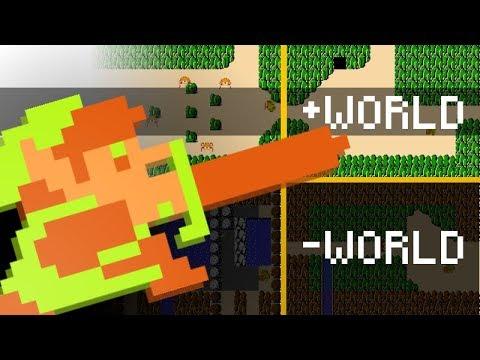 Minus Worlds UNLOCKED in The Legend of Zelda! (Very Creepy)