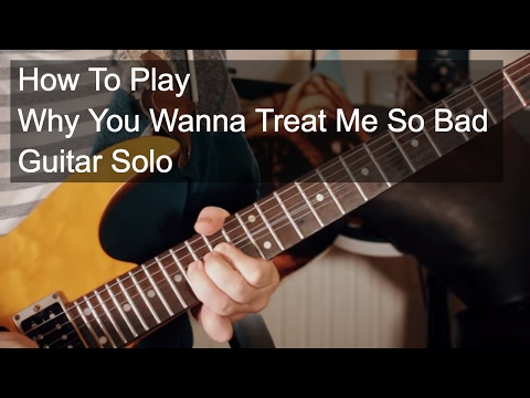 Free Download 'why You Wanna Treat Me So Bad' Solo - Prince Guitar Lesson Mp3 dan Mp4