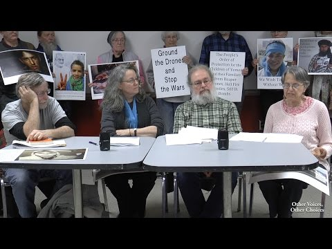 Ground the Drones! - Press Conference and Sentencing
