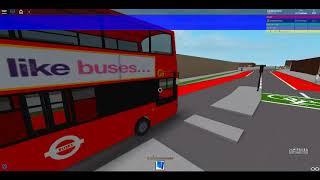 ROBLOX | Central London Project : Route 343 London Bridge Stn - Larcom Street