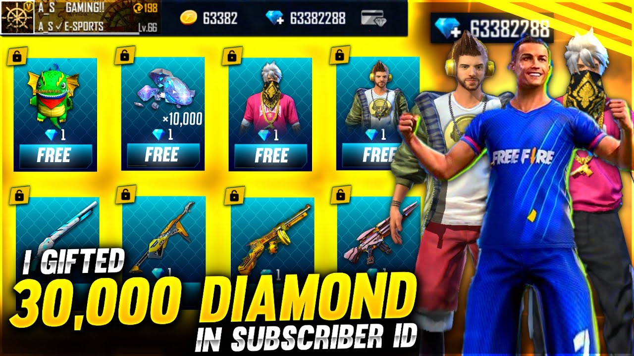 Buying 30,000 Diamonds Dj Alok & All Items From 90% Off Event In Subscriber Id? - Garena Free Fi