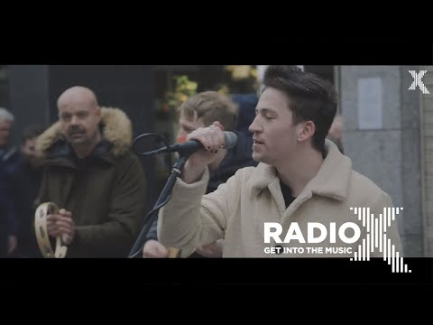 Picture This - Take My Hand (Busking in Dublin For Radio X)