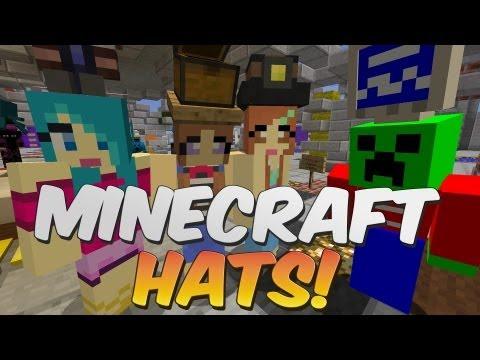Novelty Hats In Minecraft! - IChun Hats Mod Showcase