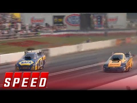 J.R. Todd Vs. Ron Capps - Indianapolis Funny Car Final   2017 NHRA DRAG RACING