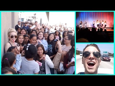 Talent Show & Bethany Mota Meet Up!  #VlogADayInMay