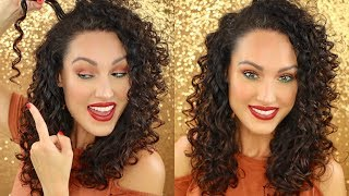 How to get SUPER DEFINED Curly Hair | The Glam Belle