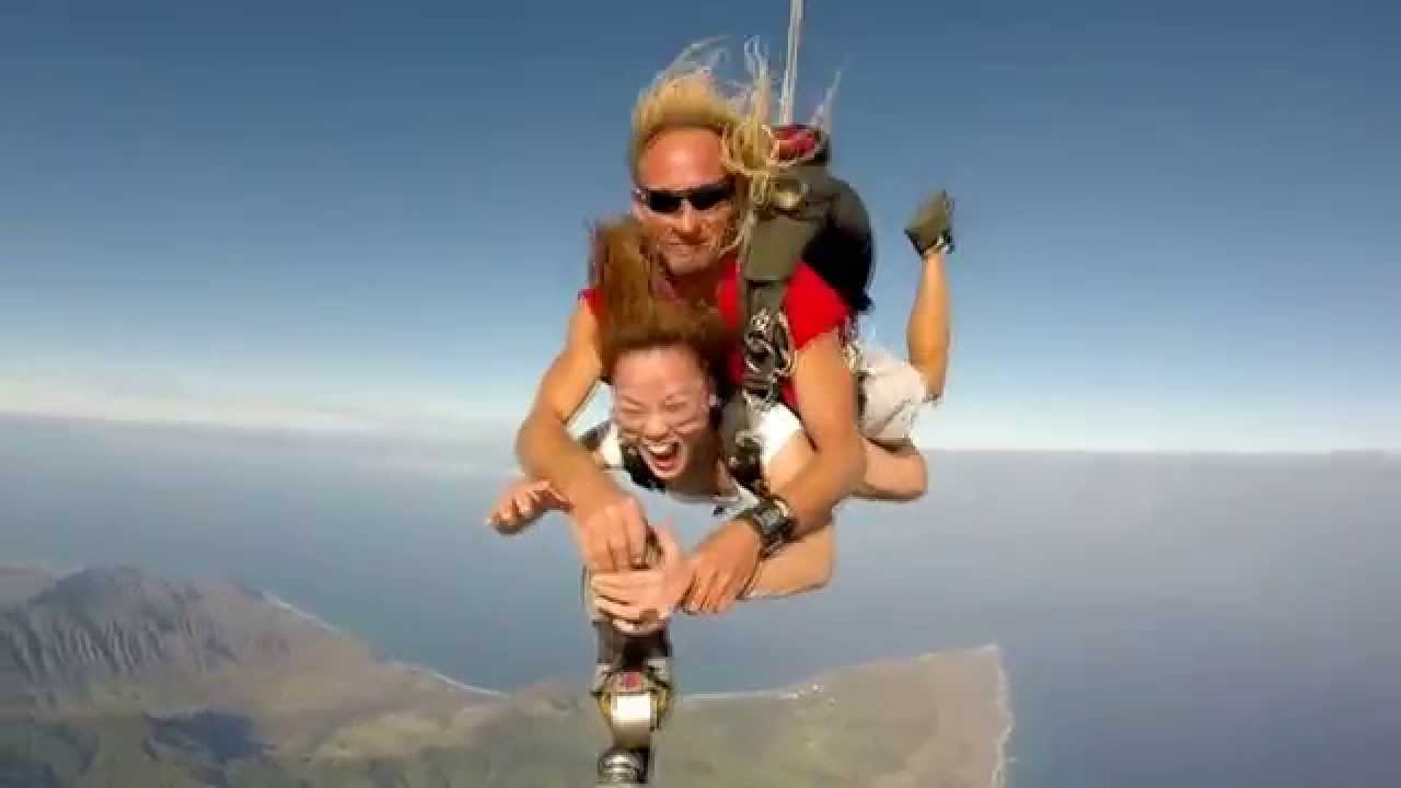 """PACIFIC SKYDIVING '15 """"my first jump"""" and so much fun ..."""