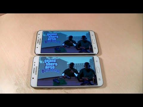 Samsung Galaxy J7 2016 vs Samsung Galaxy J7 (HD)