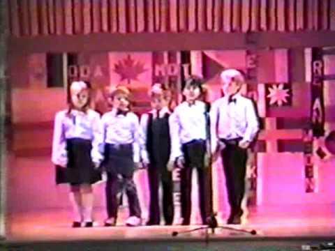 Mohansic School 1st Grade Assembly, April 9, 1989