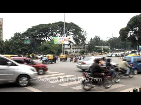 Rush hour in Bengaluru - Karnataka