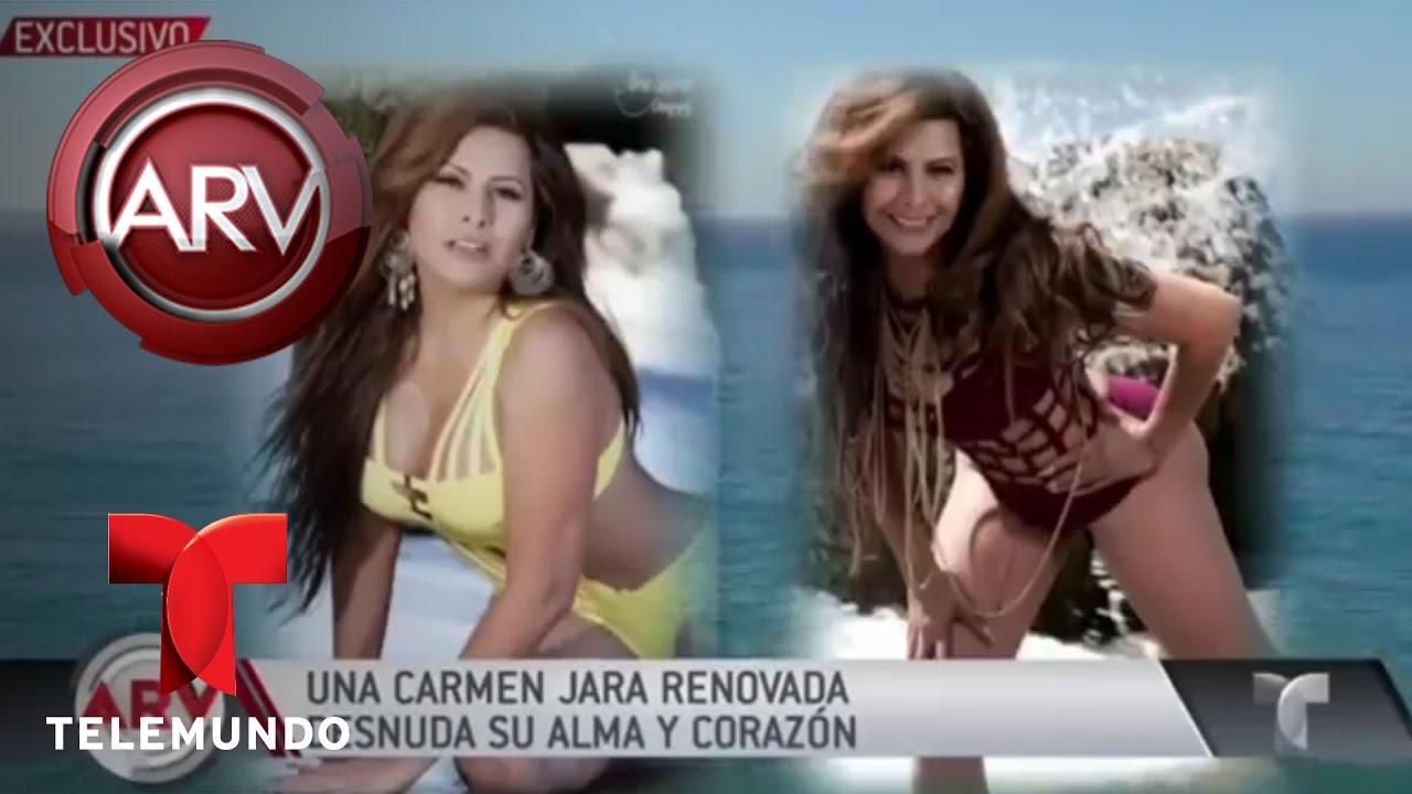 Carmen Jara Se Desnuda Ante Cámaras Al Rojo Vivo Telemundo