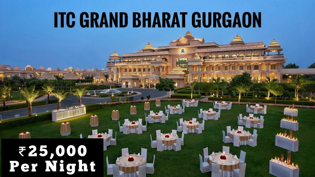 ITC Grand Bharat Hotel Gurgaon - A Luxury Collection Hotel | Complete Information & Hotel Review
