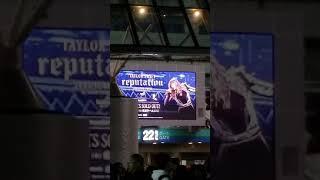 Tokyo Dome Taylor Swift Reputation Concert - 21 November 2018