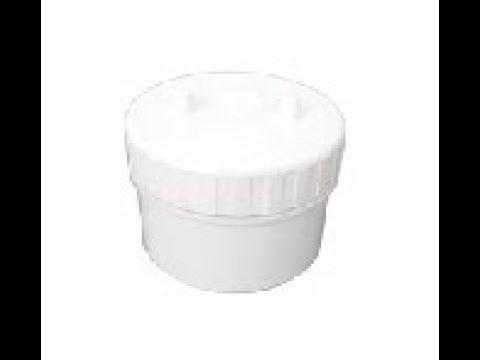 PVC 소제구 (소재구).PVC CO (Clean Out).BWP