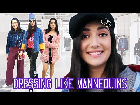I Dressed Like Store Mannequins For A Week
