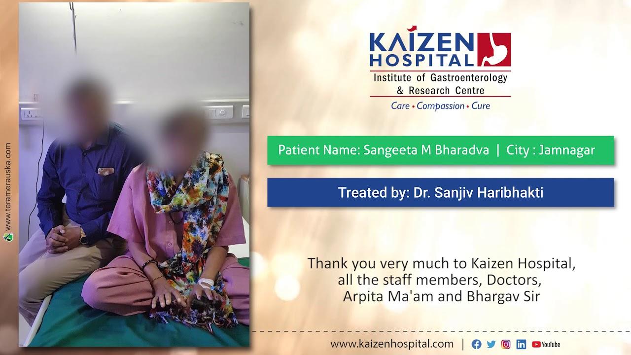 #HappyPatient Satisfied Result – Dr. Sanjiv Haribhakti #Gastroenterology