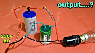 Another type Supply via Capacitor