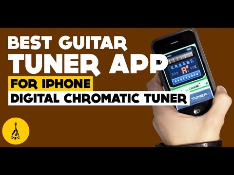 best guitar tuner app for iphone digital chromatic tuner youtube. Black Bedroom Furniture Sets. Home Design Ideas
