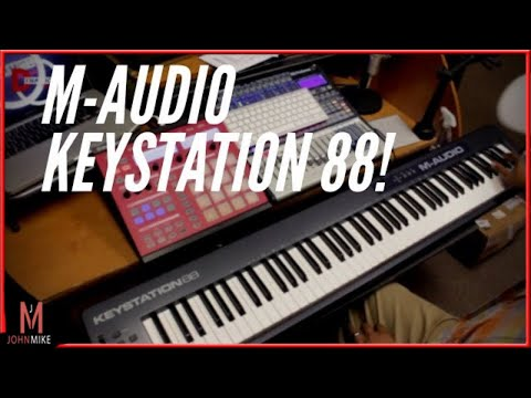 New M-audio Keystation 88 MKII Unboxing and Review