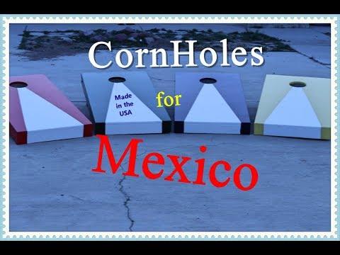 Cornhole games for Mexico children