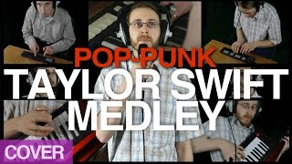 Brett Domino - Taylor Swift Pop-Punk Medley