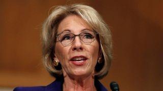 debbie wasserman schultz betsy devos is an enemy of the public schools
