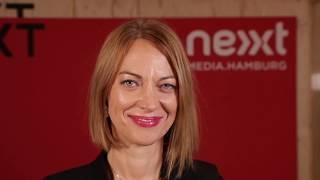 Nandini Stocker (Google) im nextMedia.Studio auf der #NEXT17 thumbnail