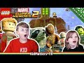 Download LEGO Marvel Super Heroes 2 Part 1. Kang o Rang. HD Gameplay Walkthrough [KM+Gaming S02E15)