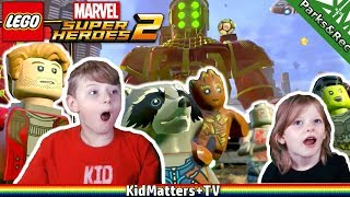 LEGO Marvel Super Heroes 2 Part 1. Kang o Rang. HD Gameplay Walkthrough [KM+Gaming S02E15)