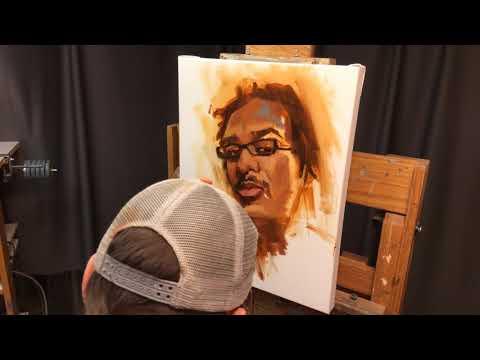 Portrait Study 1 20x16 in. oil