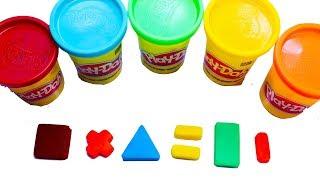 Play doh figures | play doh figuras | play doh figuras geométricas
