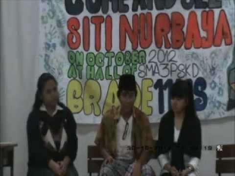 Siti Nurbaya @SMA3PSKD on Movie w/ Subtitle