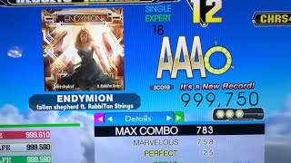 Endymion (ESP-18) 25p PFC 999,750 World Record [DDR Ace]