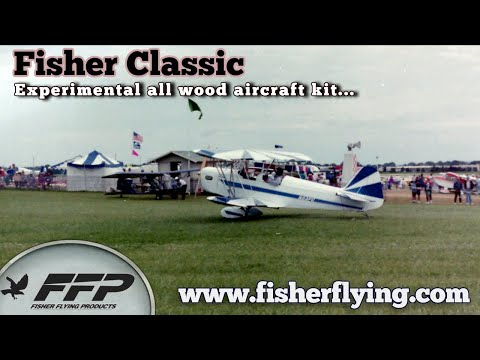 Fisher Classic, Two Seat Experimental Light Sport Aircraft, By Fisher Flying Products.