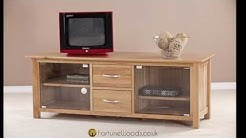 MNE30 LARGE TV UNIT WITH GLASS DOORS 01