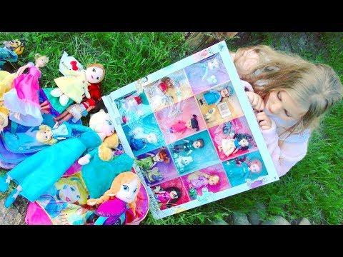 🌺🐇 Видео для детей  💖 Алиса В Стране Чудес и принцессы Диснея 💖🐇🌺