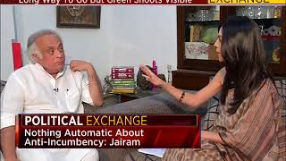 Political Exchange: Jairam Ramesh Exclusive (Part 1)