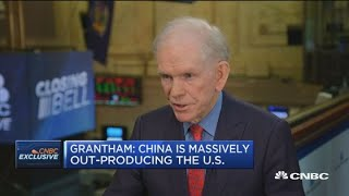 China will outgrow the US inevitably: Jeremy Grantham