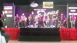 fusion  dancer (south crew ) 2nd performance@festival mall grand champion!!
