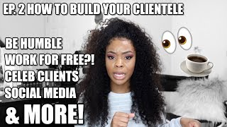 What's Up With These BIG HEADED HAIRSTYLISTS?! 👀 How To Build Your Clientele! Ep.2 #BeautyBusiness