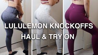 CHEAP Amazon Leggings | $20 Lululemon Knockoffs HAUL & TRY ON