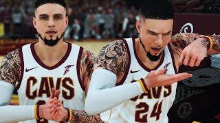 NBA 2K18 MyCAREER - 1st Game Starting! CHEF LAFLAME! Throwing Lobs To KING JAMES!